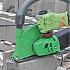 Пример использования системы для резки и шлифовки Eibenstock ETR 230